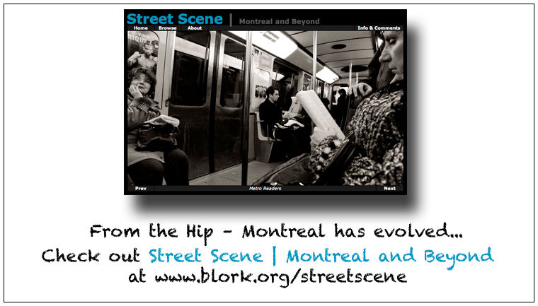 From the Hip -- Montreal Has Evolved