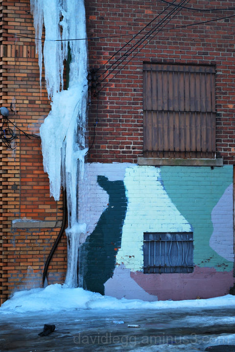 Ice in Alley