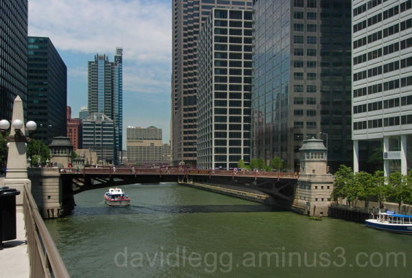 Chicago River near Union Station