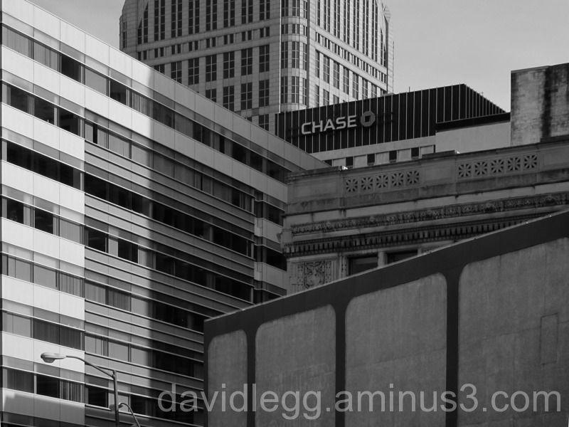 Layered Buildings, Detroit