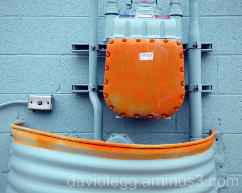 Blue and Orange Valve