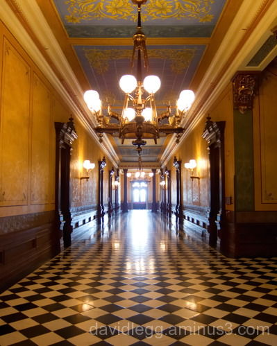 Hallway, Michigan Capitol Building