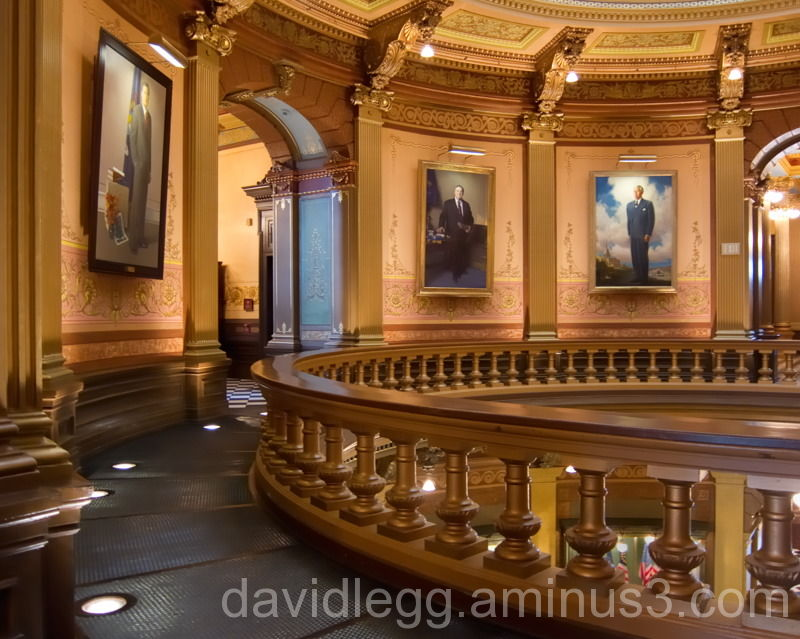 Gallery, Michigan Capitol Rotunda