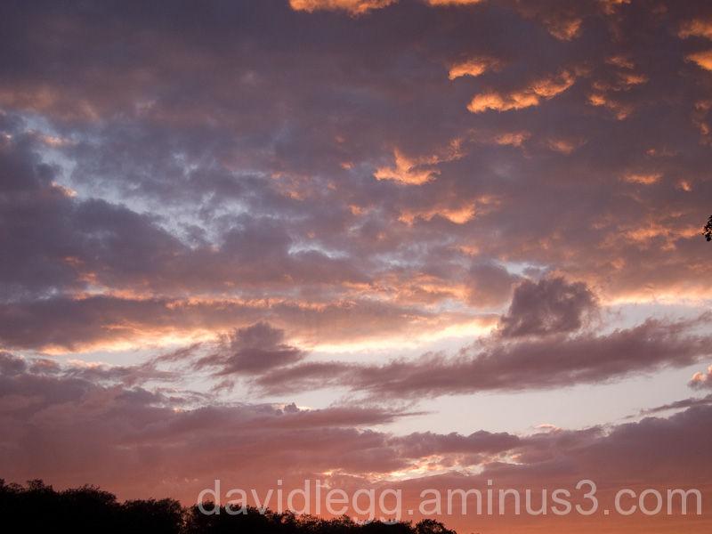Sunset, August, 2010