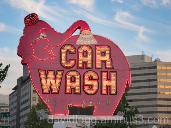 Car Wash Neon 2