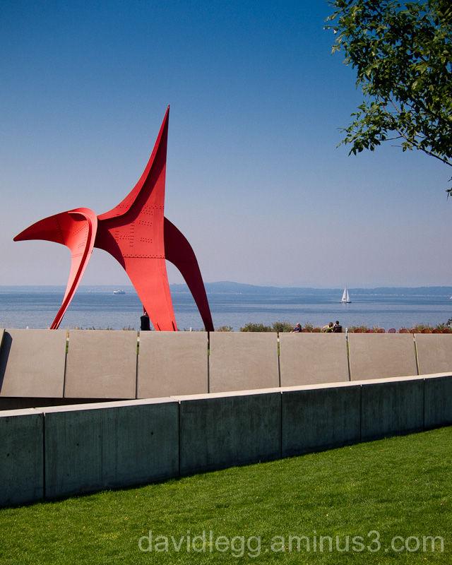 Olympic Sculpture Park, Seattle: Calder