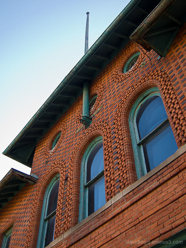 Detail: Old Firehouse, Detroit