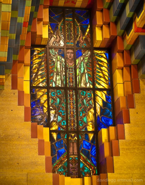 Stained Glass Window, Guardian Building, Detroit