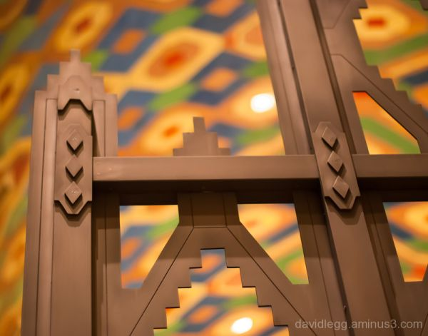Grille Detail, Guardian Building, Detroit