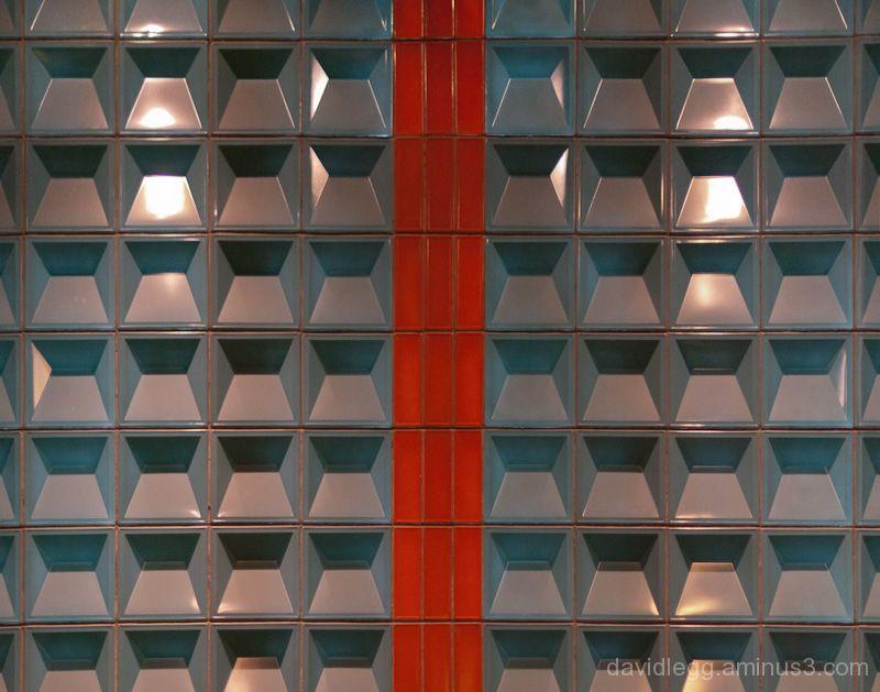 Tile Detail, Guardian Building,  Detroit