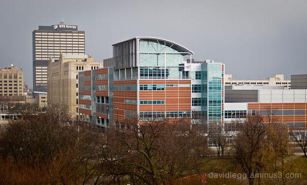 The New Cass Technical High School, Detroit