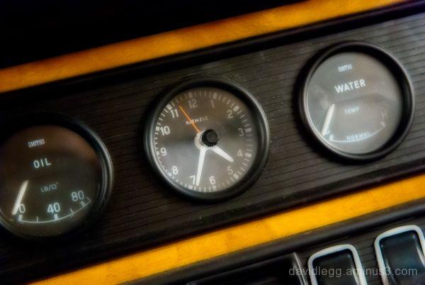 Jaguar Instrument Panel