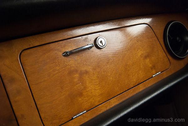 Jaguar XJ6 Glove Compartment