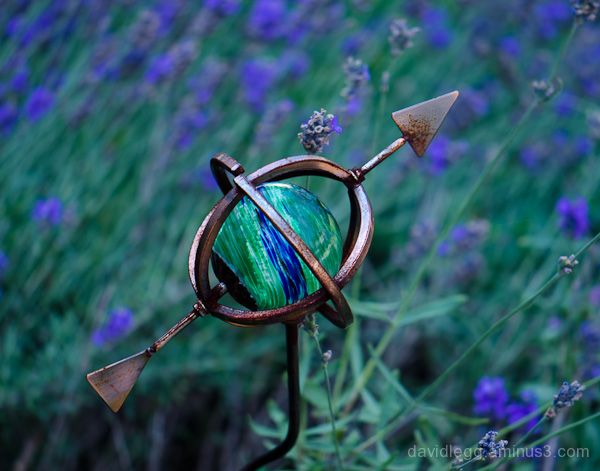 Globe and Lavender