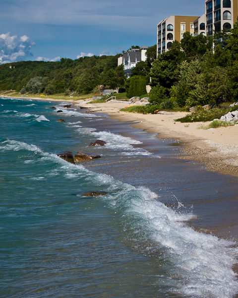 Lake Michigan Beach,  Charlevoix, Michigan