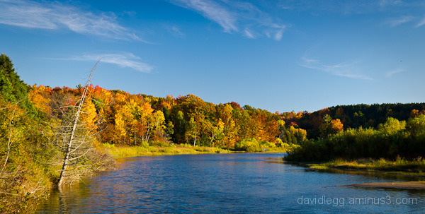 Manistee River, Mesick, Michigan, Autumn