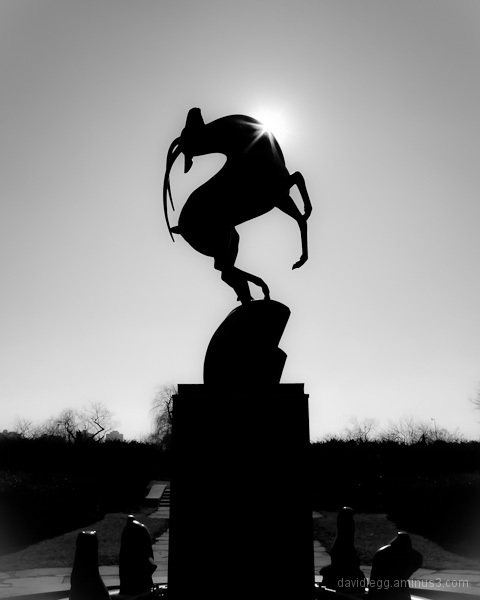 Leaping Gazelle by Marshall Fredericks, Detroit