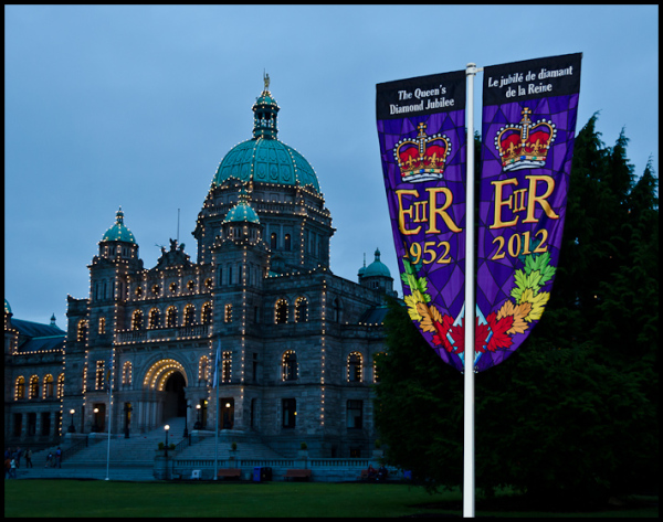 60th Jubilee Banners, Victoria