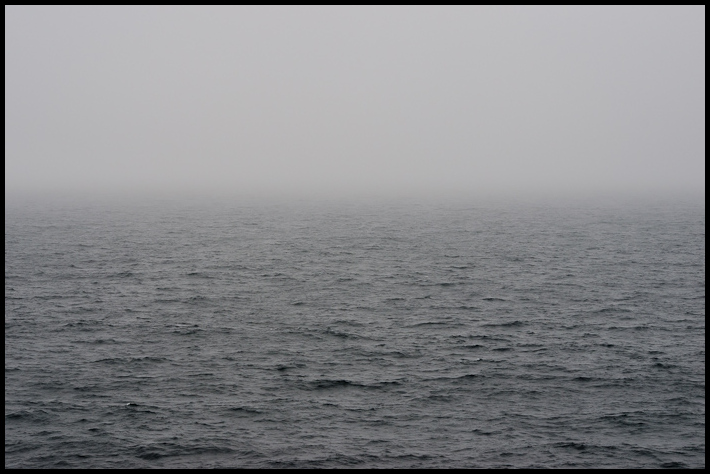 Foggy Sailing