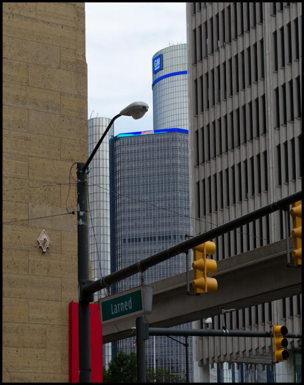 Urban Scene, Detroit