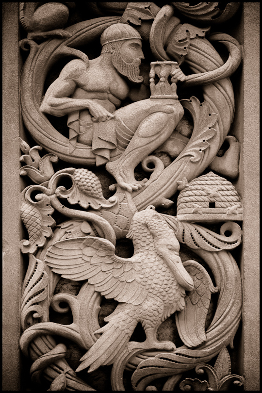 Allegorical Detail, Detroit: Time and Plenty