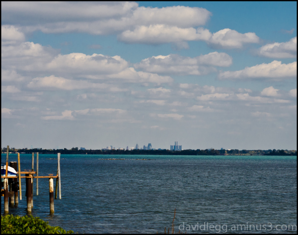 Detroit from Grosse Ile