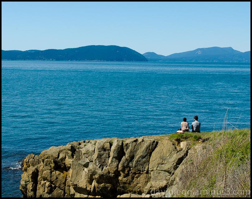 Looking at San Juan Islands, Washington
