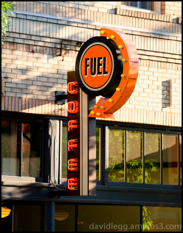 Fuel Coffee Sign