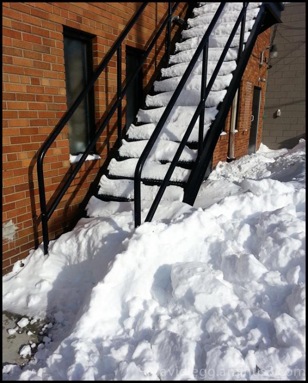 Blocked Stairway