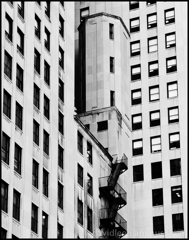 Turret and Fire Escape, Detroit