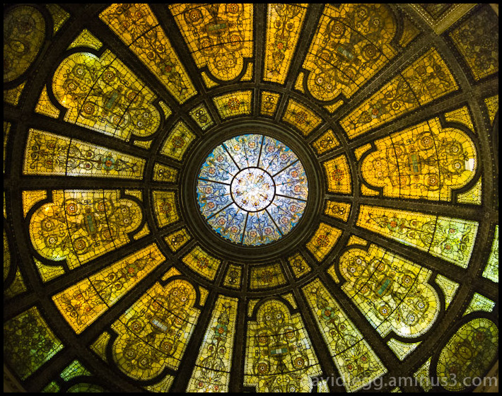 Glass Dome, Chicago Cultural Center