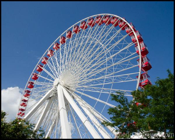 Ferris Wheel, Navy Pier, Chicago