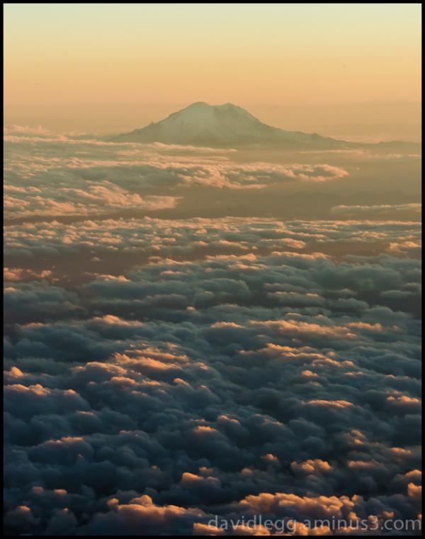 Mt. Rainier, Washington, Sunset