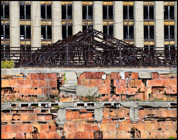 Ruins of Michigan Central Station