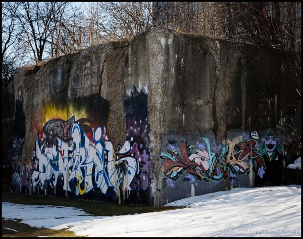 Bridge Abutment, Dequindre Cut, Detroit