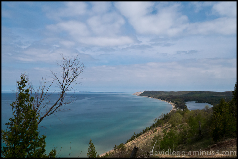Sleeping Bear Dunes from Empire Bluffs