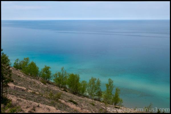 Empire Bluffs View, Lake Michigan
