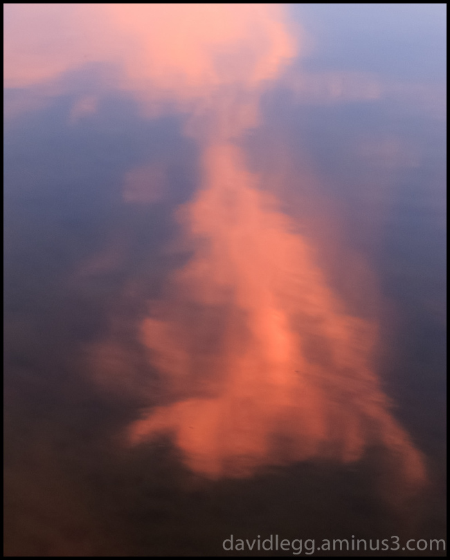 Lake Reflection, Sunset