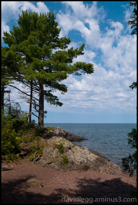 Lake Superior, Hunters Point, Copper Harbor, Michi