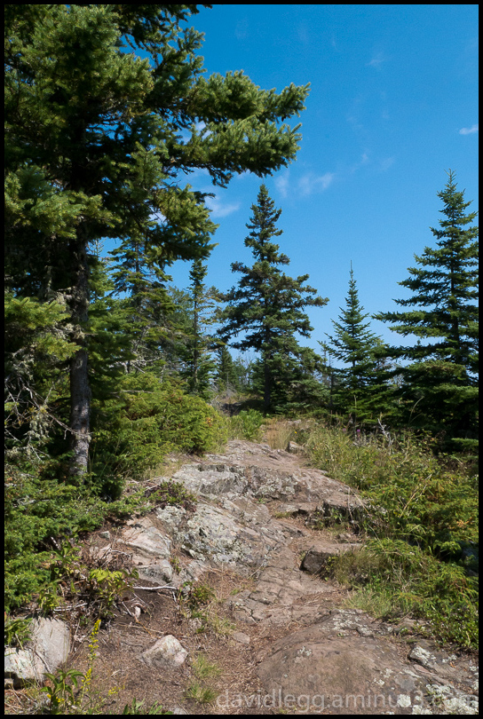 High Point on the Stoll Trail, Isle Royale Nationa
