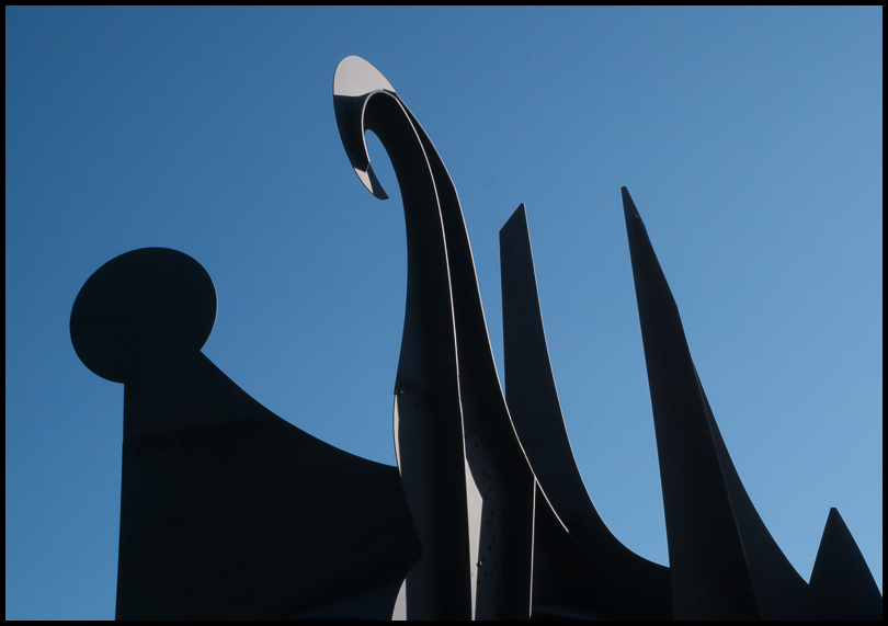 Calder Sculpture, Detroit