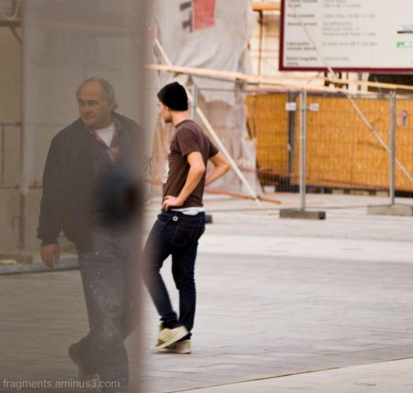 Győri séta és egy tükör