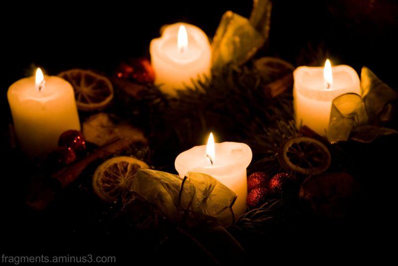 Karácsony, koszorú