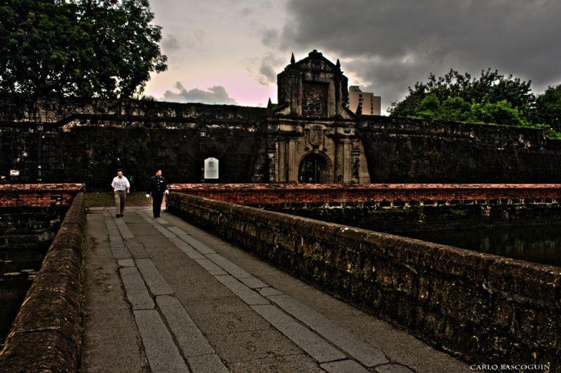 walls of fort santiago
