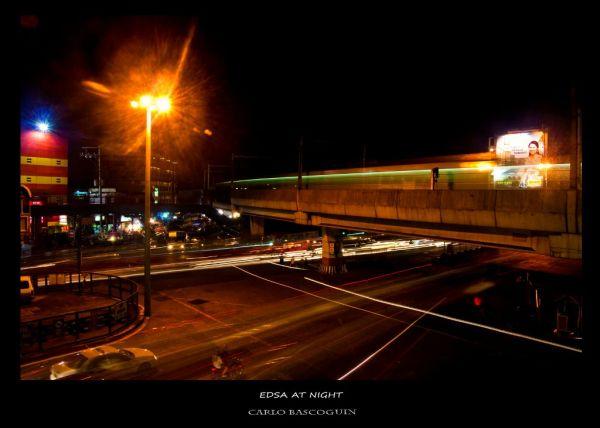edsa at night