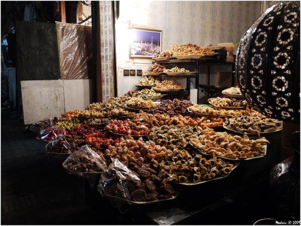 Patisserie souk Marrakech