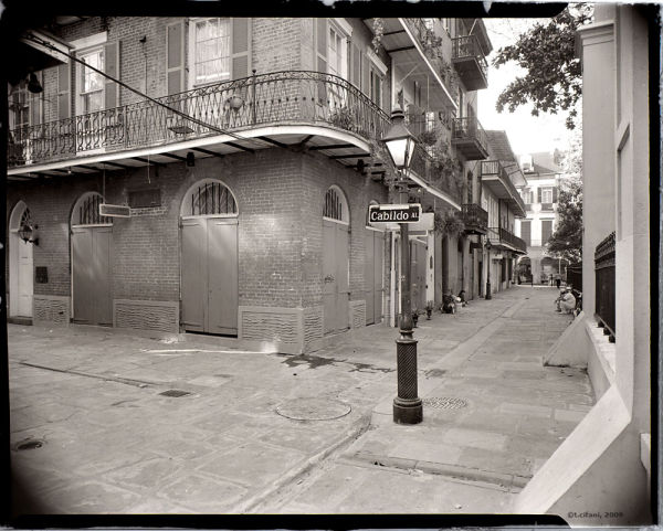Pirate's Alley, French Quarter, New Orleans, LA