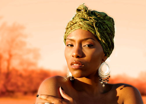 My favorite image from the Africa-inspired shoot