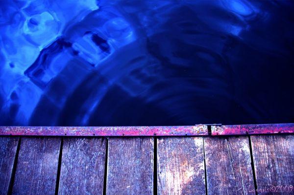 La valse de l'eau.