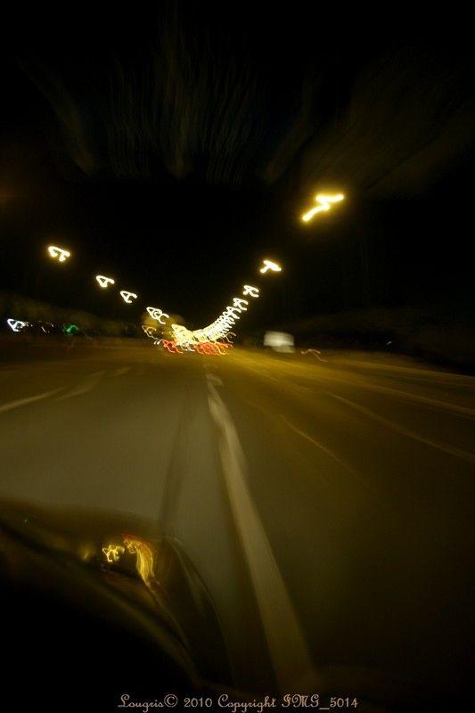 A la vitesse de la Lumière.
